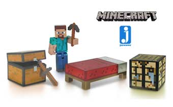 Jazwares Announces Minecraft Series 2 Figures