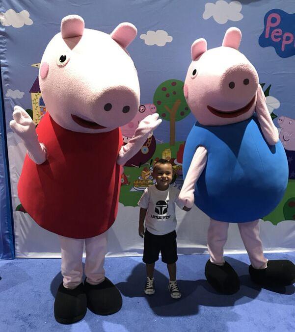 Peppa Pig + Ben & Holly at Comic Con 2017!