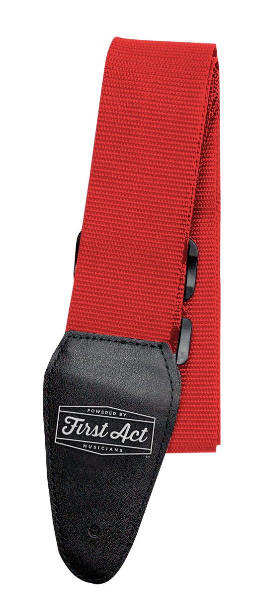 Guitar Accessories - Guitar Straps - Red