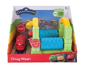 Chug Wash Playset