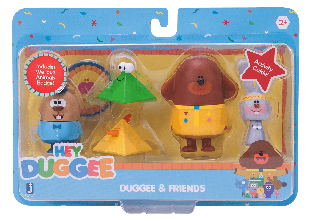 Duggee & Friends Animal Pack
