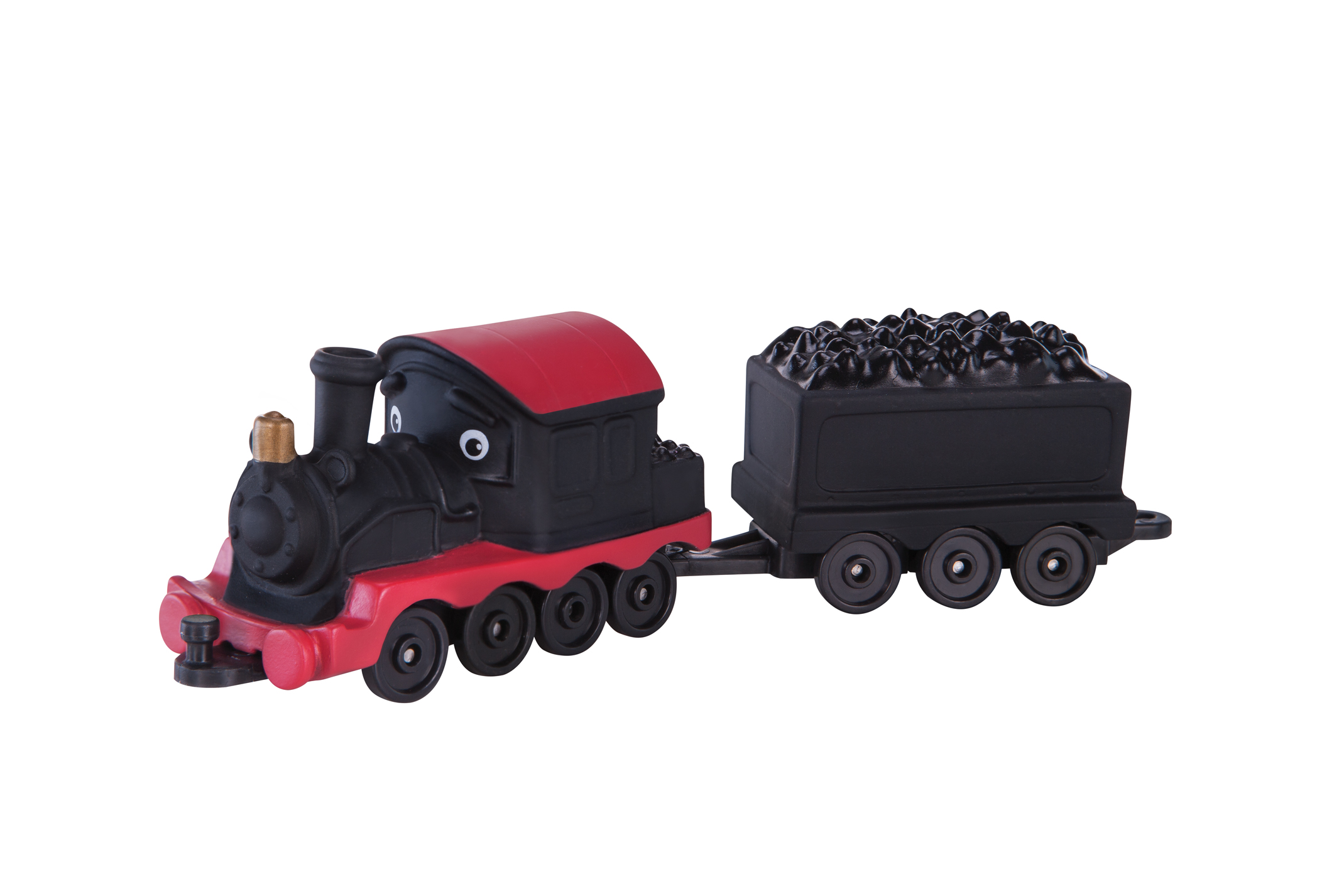 Double Chugger Old Puffer Pete and Coal Wagon
