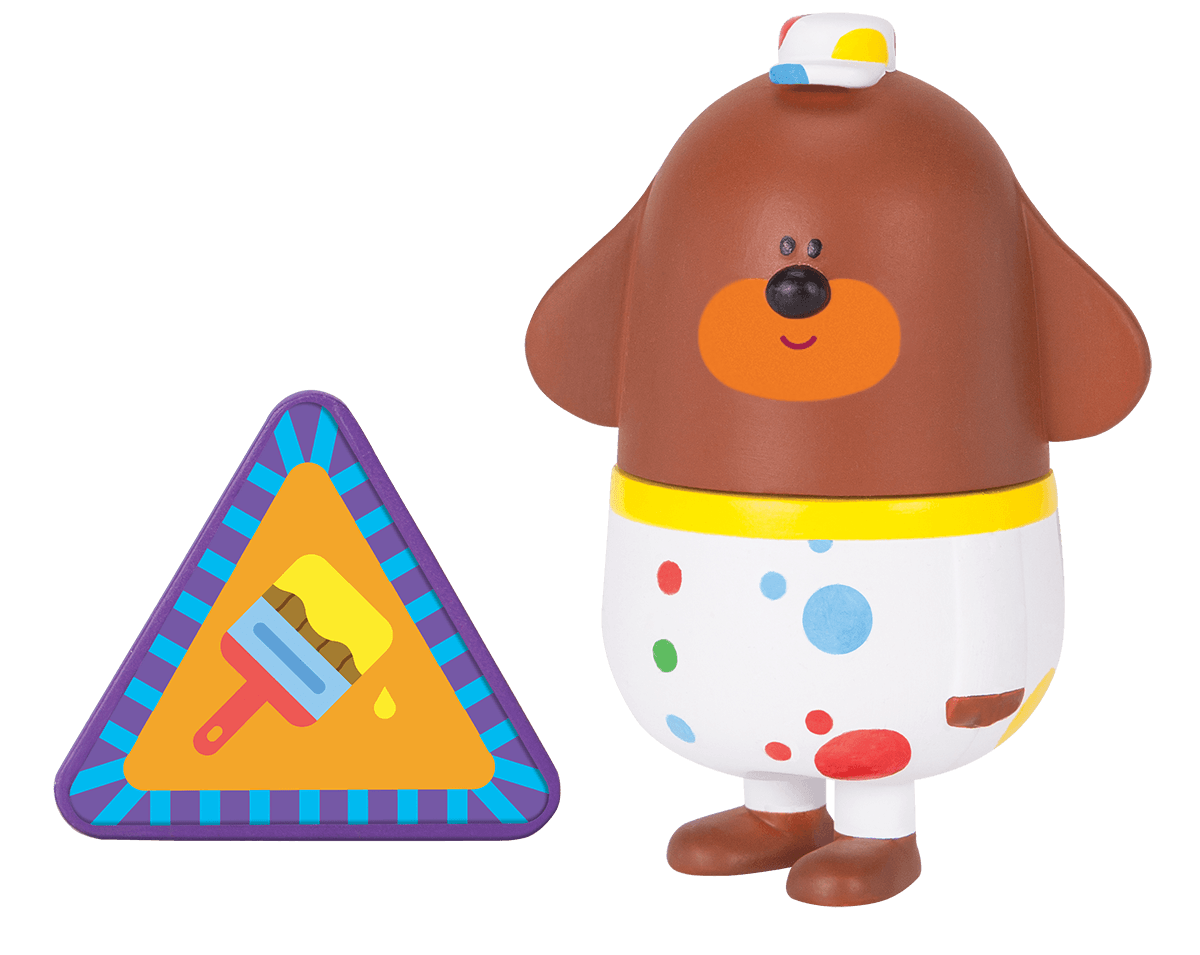 Duggee with Decorating Badge
