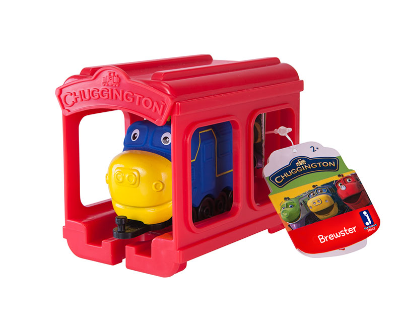 Little Chuggers Mini Garage Brewster