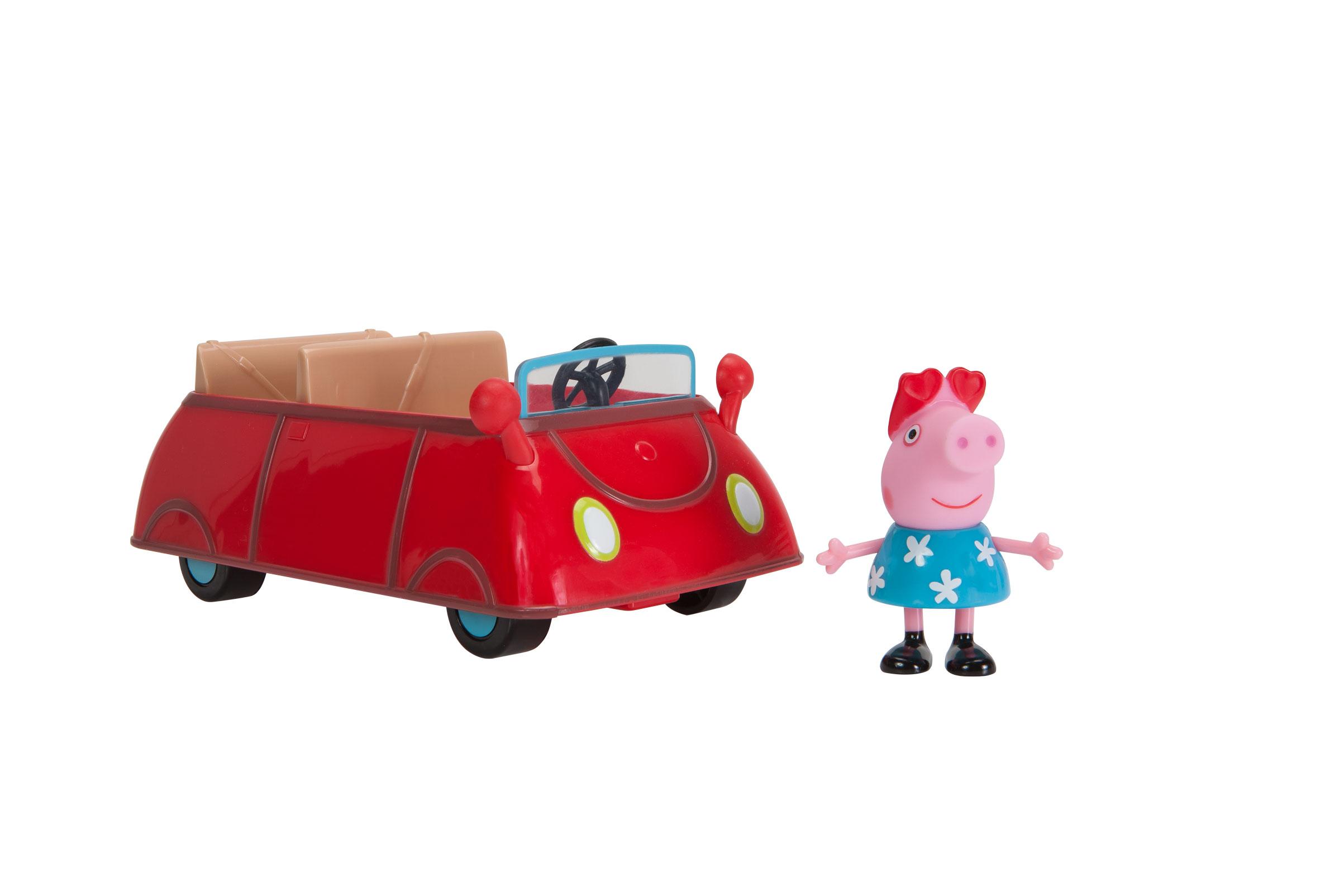 Peppa's kleines rotes Auto