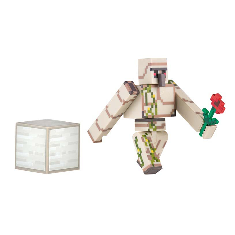 Iron Golem w/ Flower & Iron Block