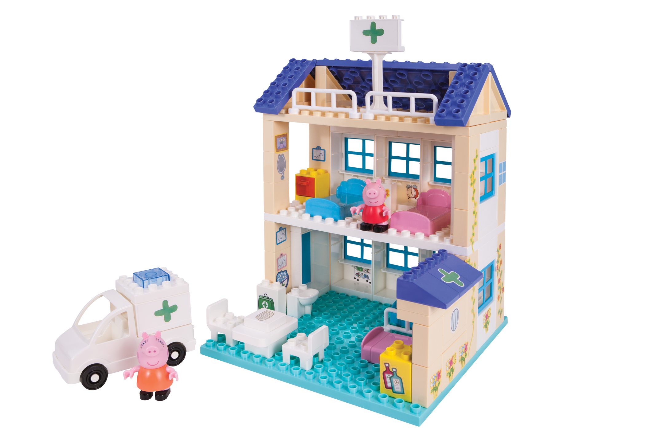 Peppa Pig Hospital Construction