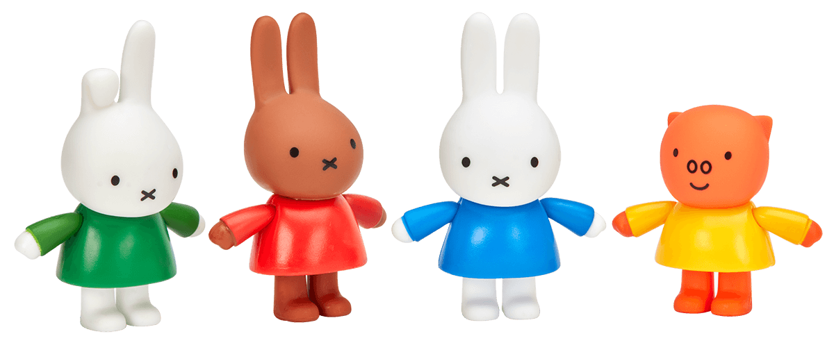 Miffy & Friends Pack