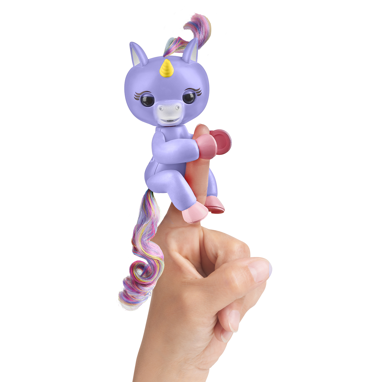 Fingerlings Einhorn Alika lila