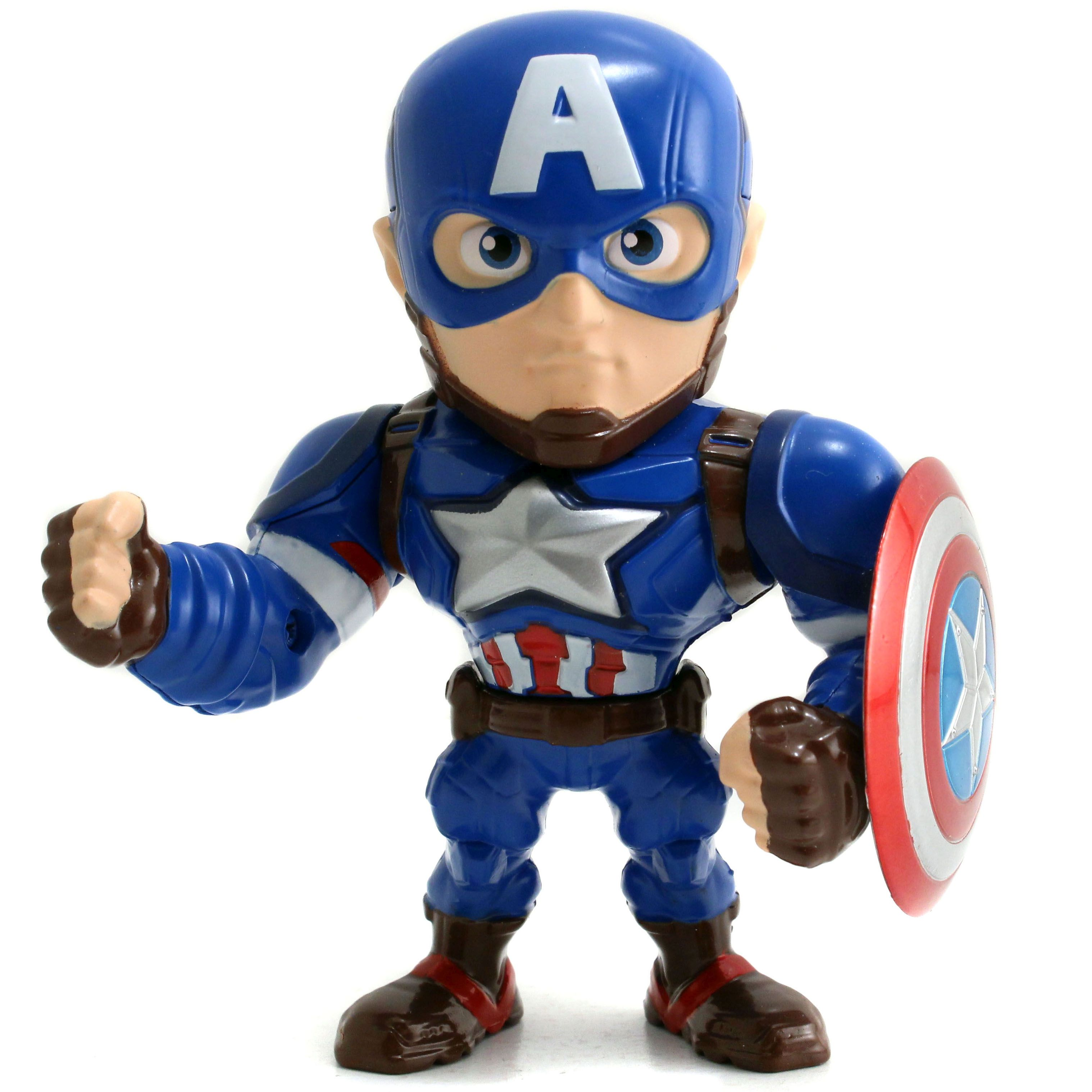"MARVEL Civil War Capitain America 4"" Figur"