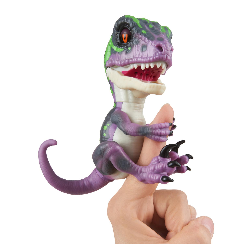 Baby Dinosaurier Velociraptor Razor (Lila)