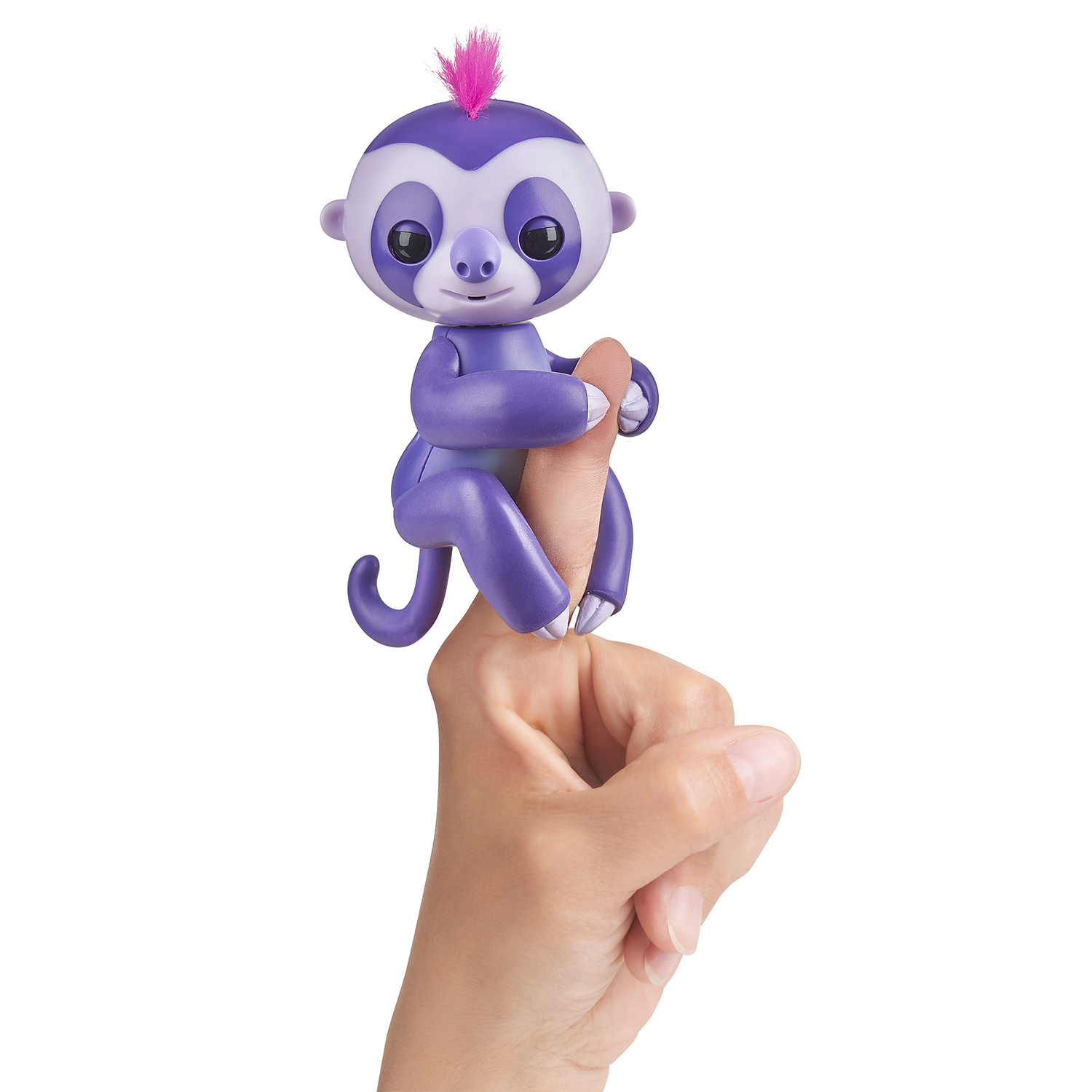 Fingerlings Faultier Marge lila