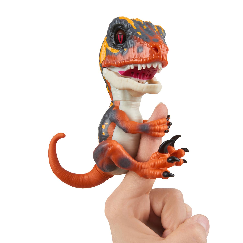 Baby Dinosaurier Velociraptor Blaze (Orange)