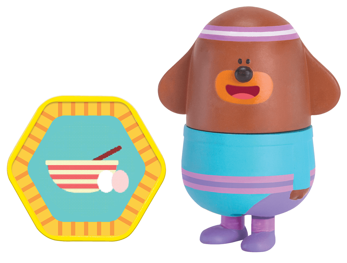 Duggee with Omelette Badge