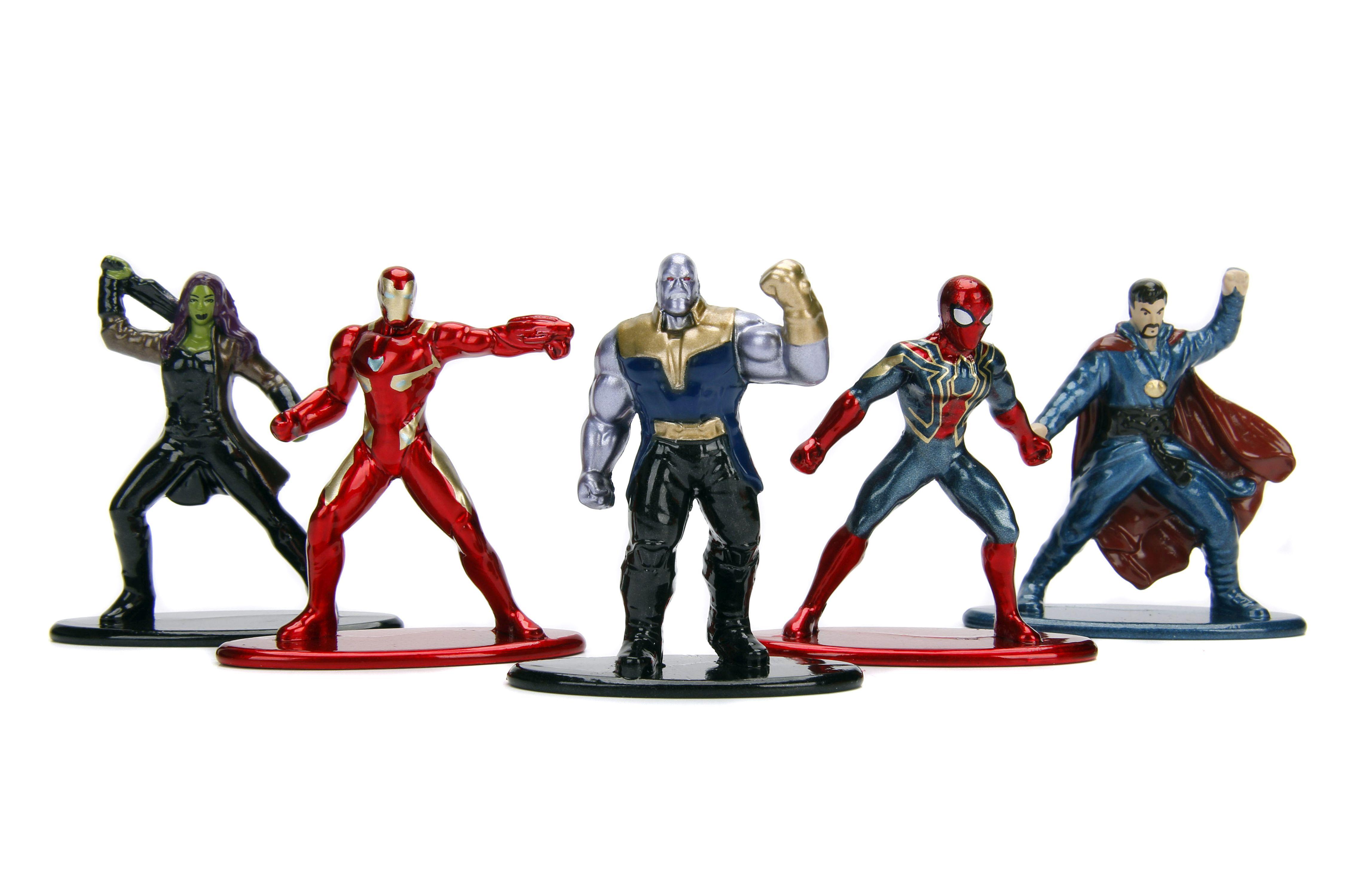 MARVEL Avengers Infinity War 5er Figurenpack (Pack 1)