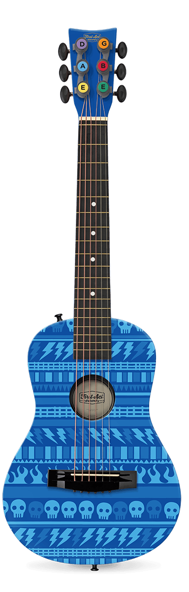 "Rock Pattern 30"" Acoustic Guitar"
