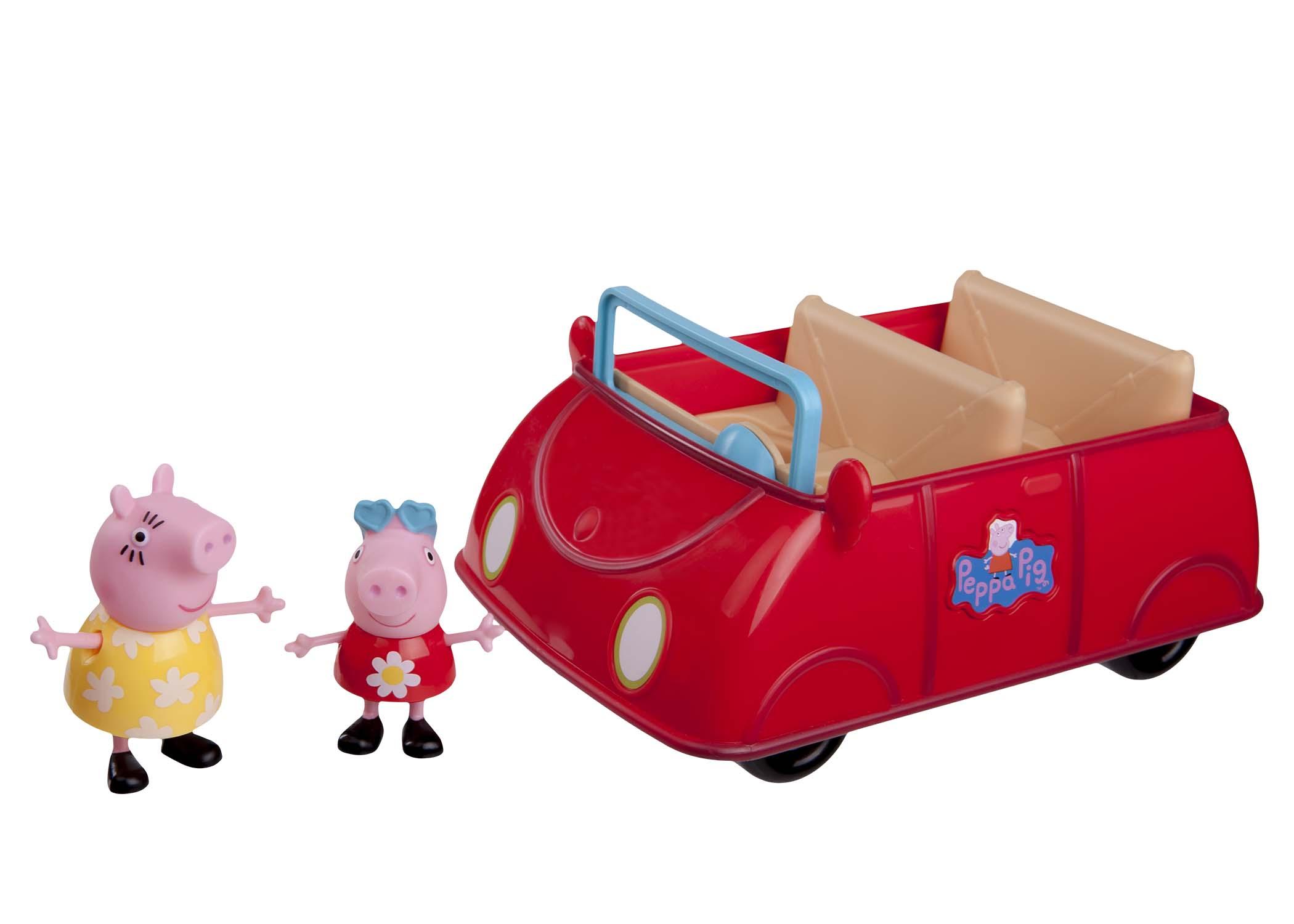 Peppa's rotes Auto