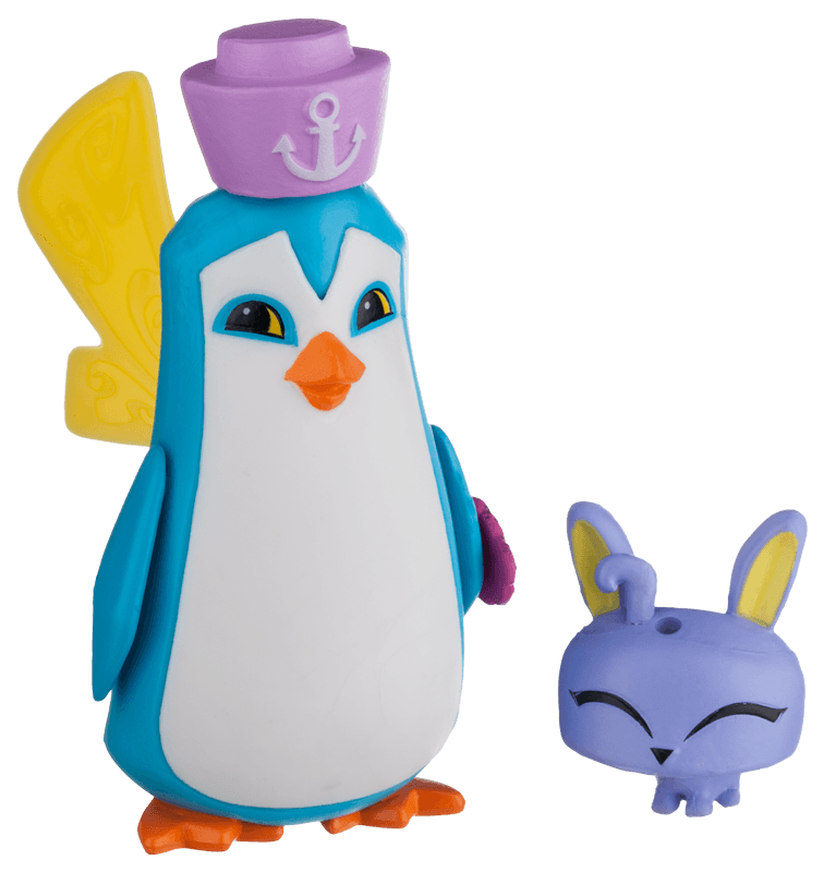 Sir Penguin and Pet Bunny