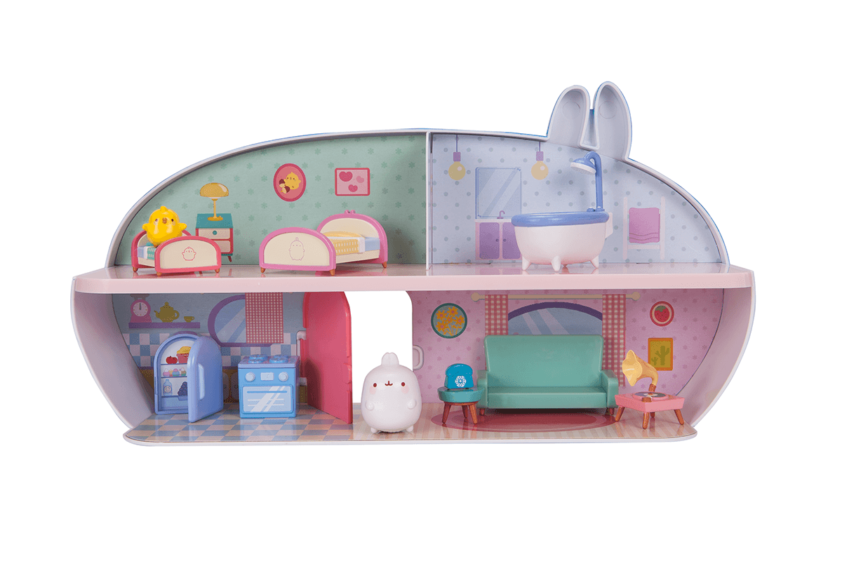Molang's Deluxe House Playset