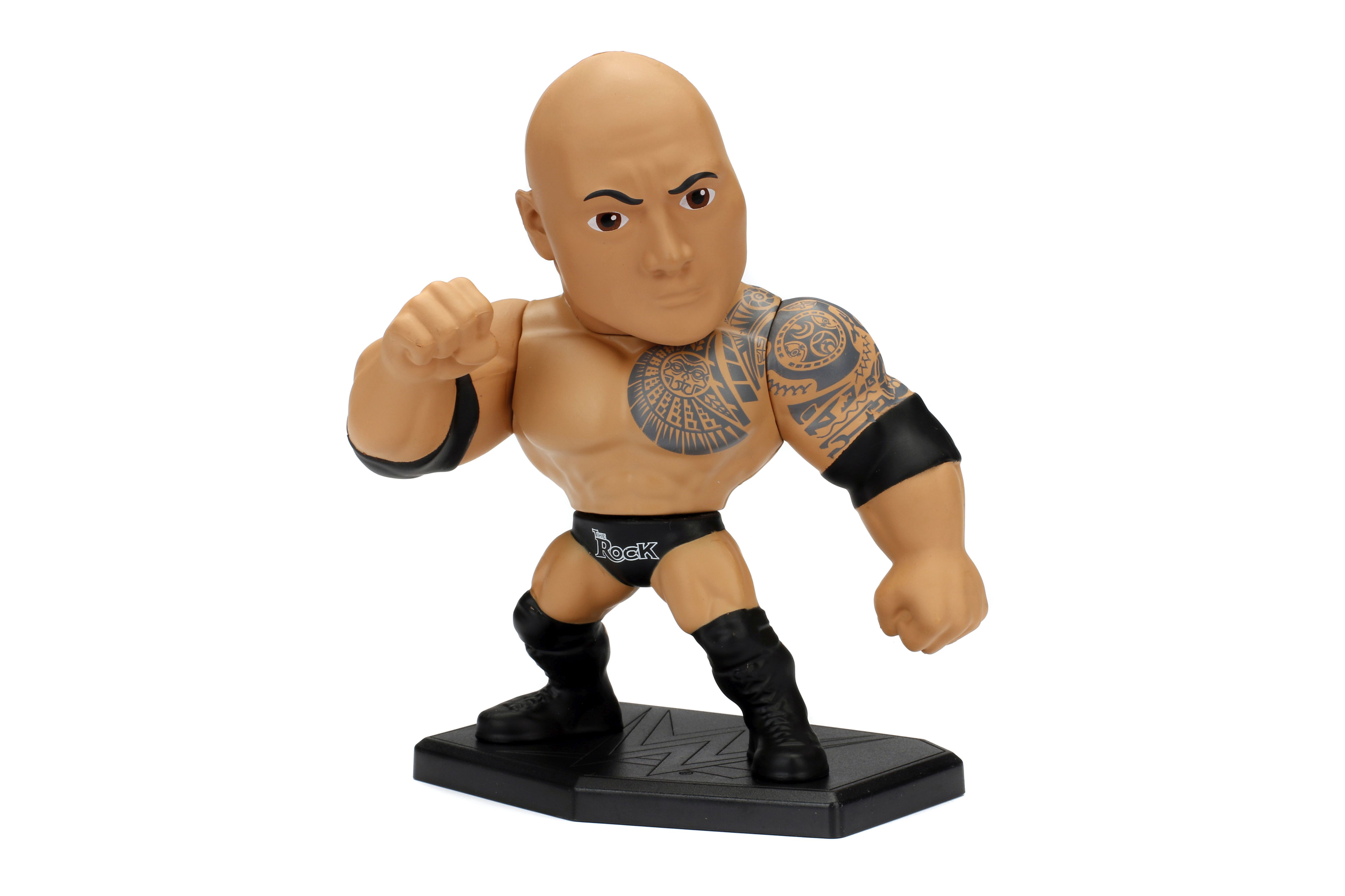 "WWE The Rock 4"" Figur"