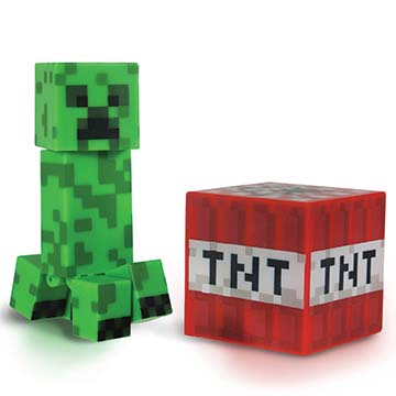 Creeper w/Gunpowder & TNT Block