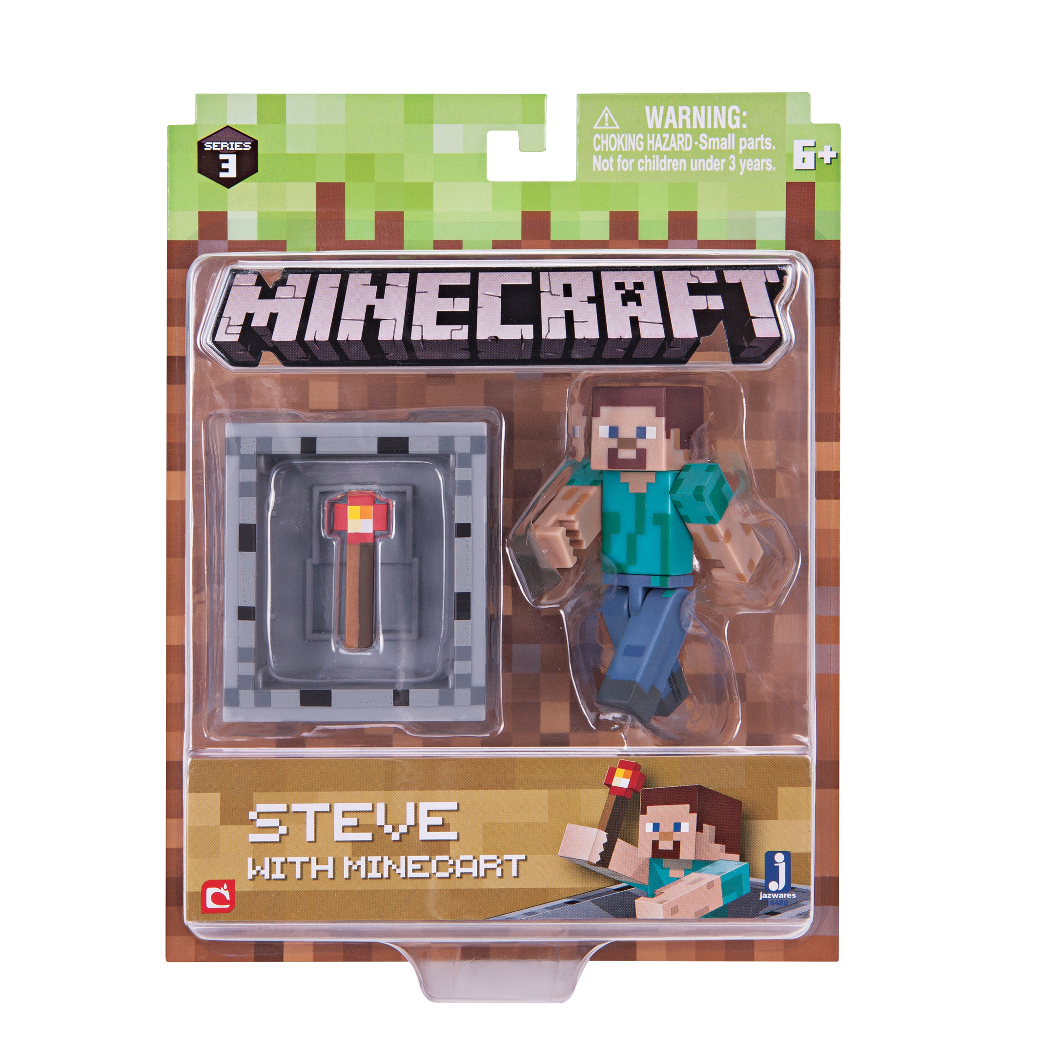 Steve with Minecart Pack