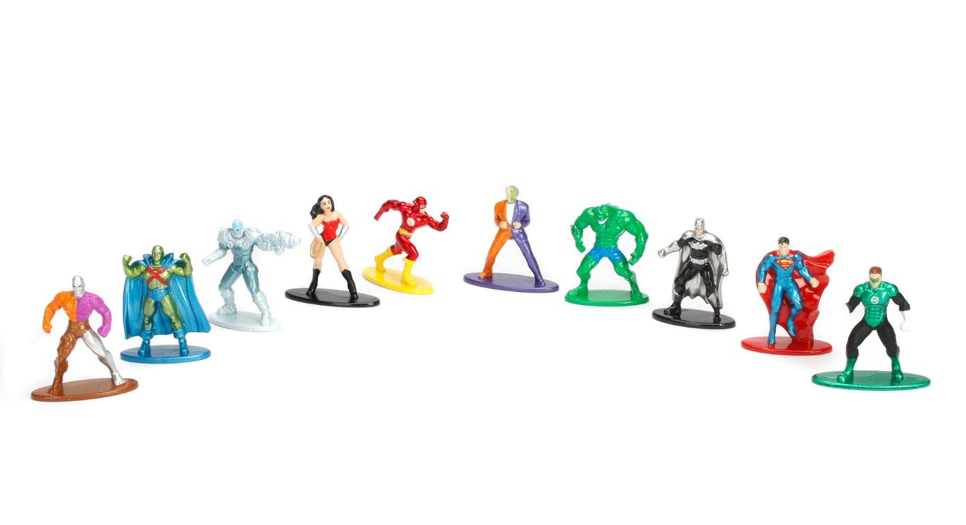 DC Comics 10er Figurenpack