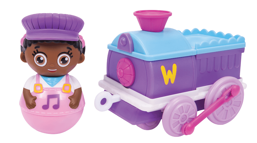 Winnie Weeble and Wobble Train