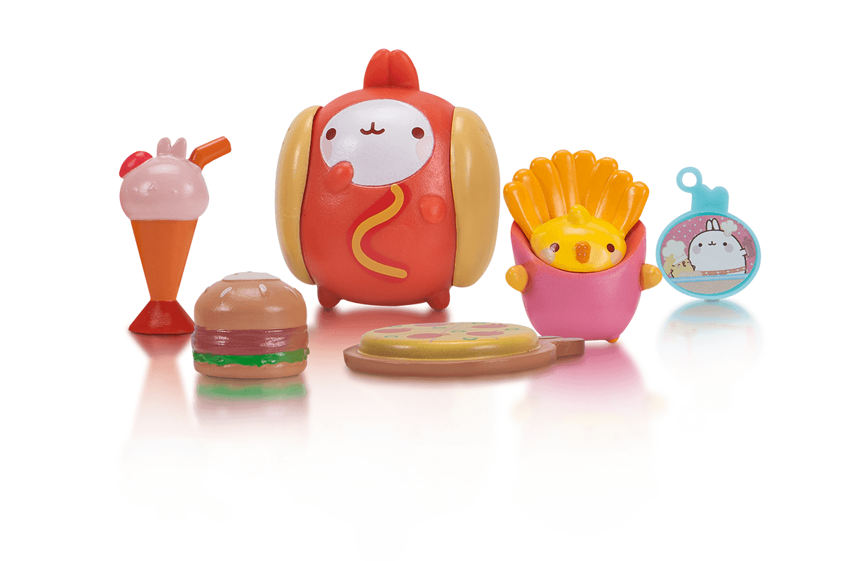 Fast Food Molang Theme Pack