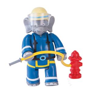 Benjamin Blümchen Figur als Feuerwehrmann