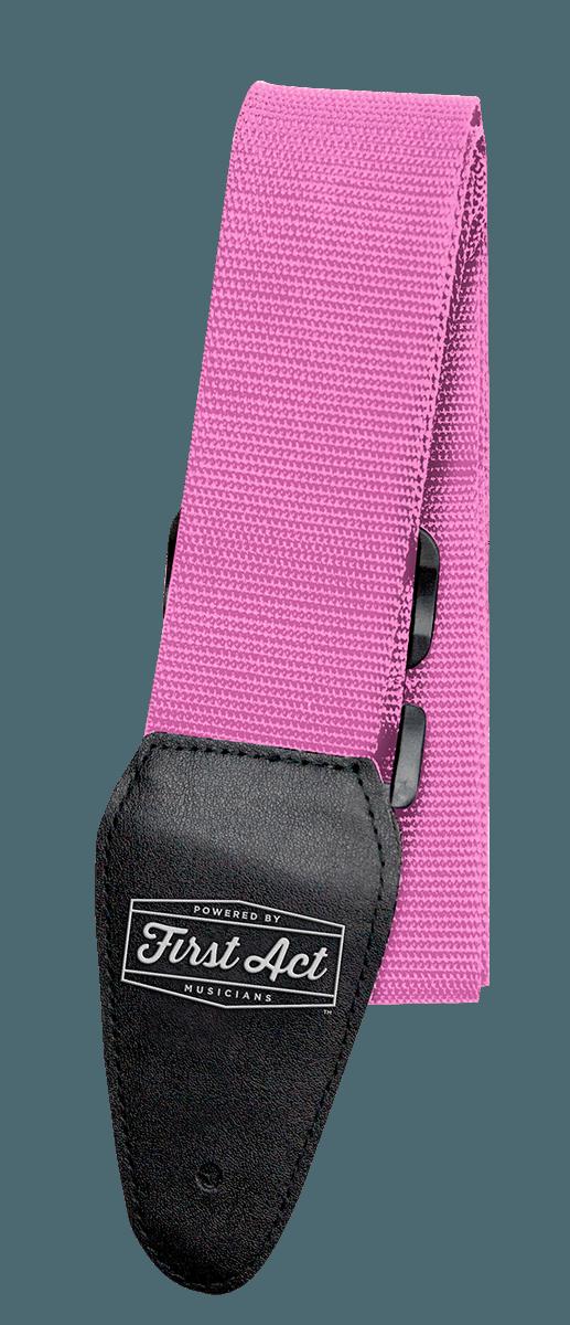 Guitar Accessories - Guitar Straps - Pink
