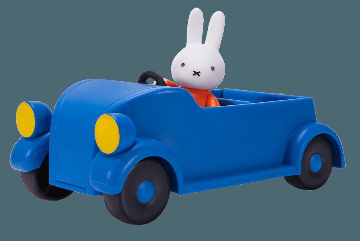 Miffy Little Blue Car