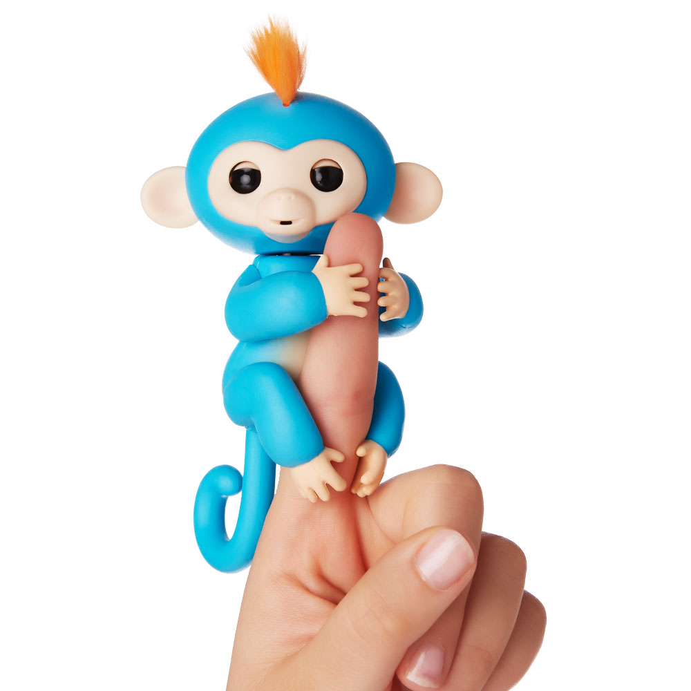 Fingerlings Äffchen Boris blau