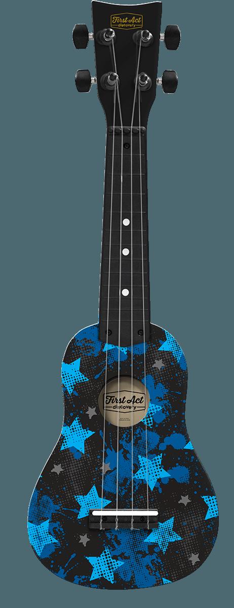 Ukulele Blue Rock Stars