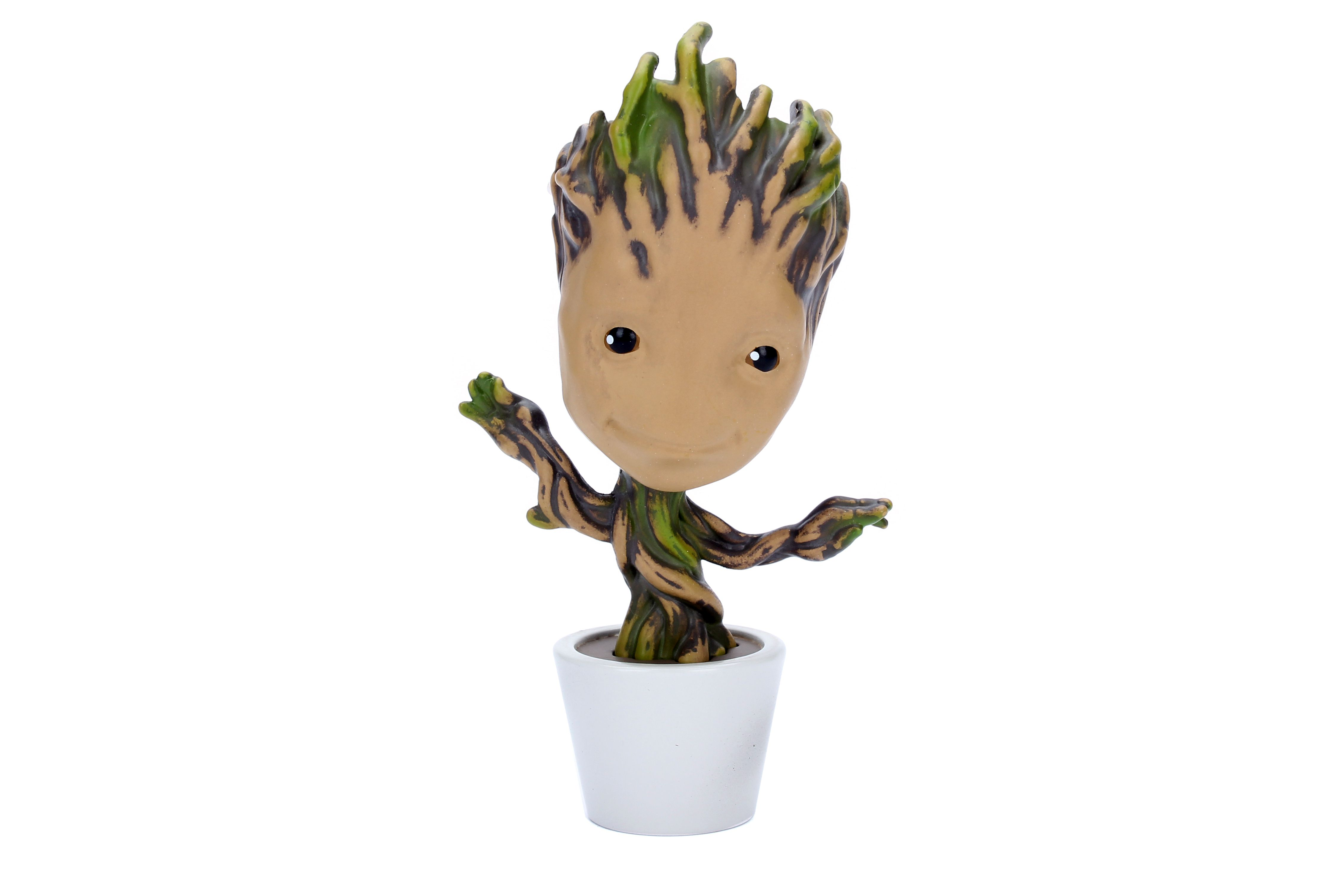 "MARVEL Guardians of the Galaxy Potted Groot 4"" Figur"