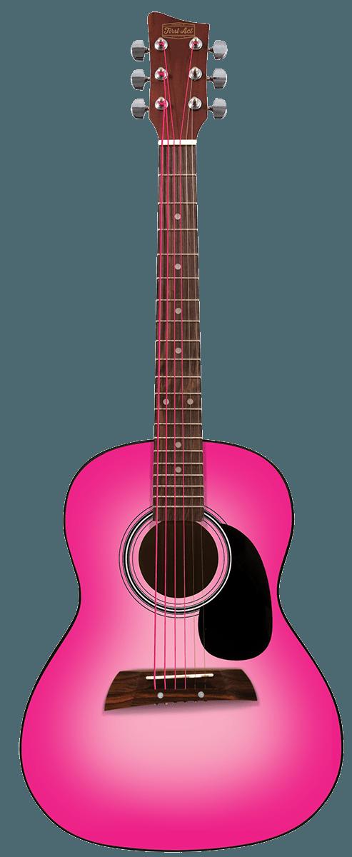 "36"" Designer Akustikgitarre Pinkburst"