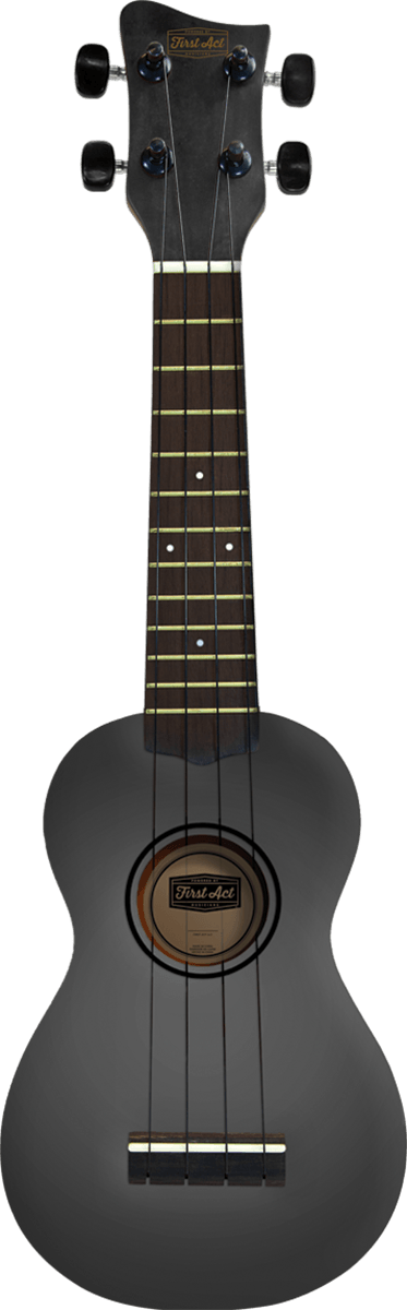 Soprano Ukulele - Grey Burst