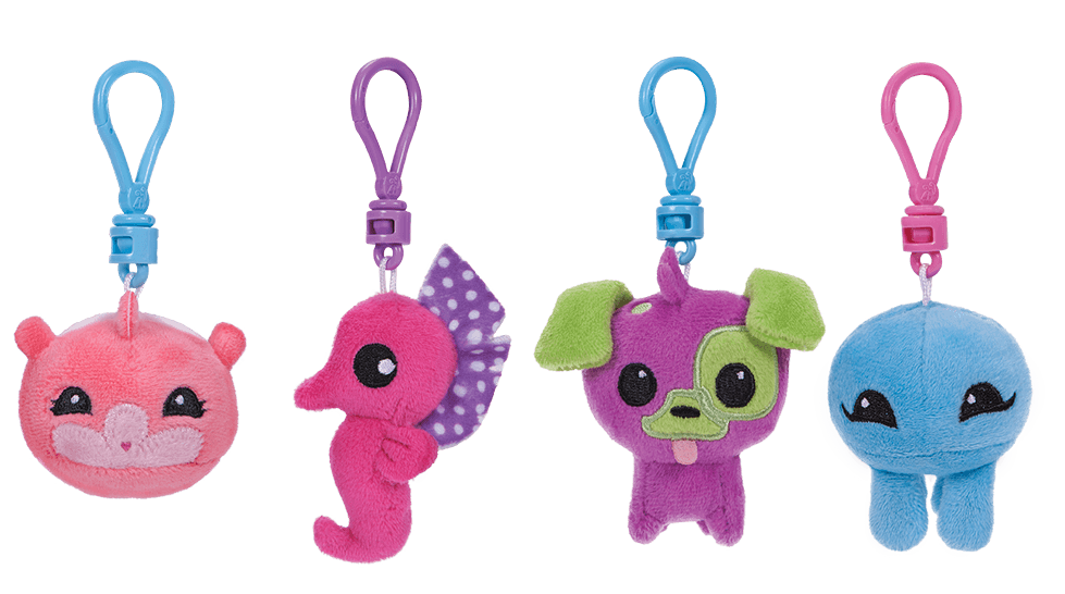 Adopt a Pet Clip Plushie