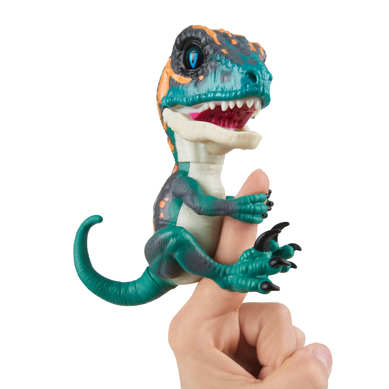 Baby Dinosaurier Velociraptor Fury (Blau)