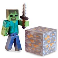 Zombie w/Iron Sword & Iron Block