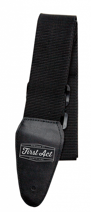 Guitar Accessories - Guitar Straps - Black