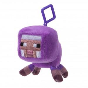 Mini Plüschfiguren mit Clip lila Schaf