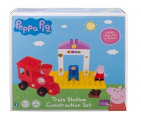Peppa's Train Station Construction Set