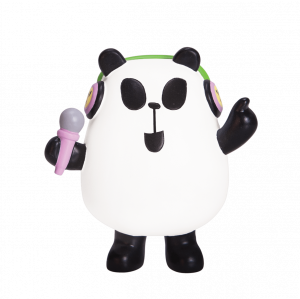 Panda-a-Panda Feelin' Confident