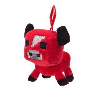 Mini Plüschfiguren mit Clip Baby Pilzkuh