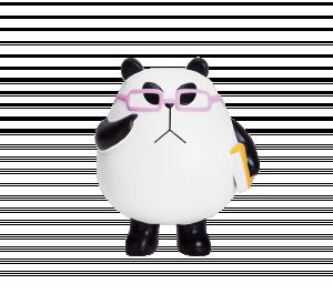 Panda-a-Panda Feelin' Nerdy