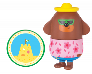 Duggee with Sand Castle Badge