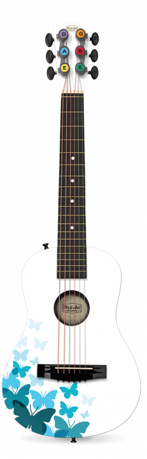 "White Butterfly 30"" Acoustic Guitar"