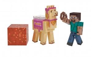 Steve mit Lama Pack