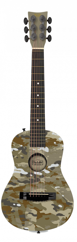 "Green Camo 30"" Acoustic Guitar"